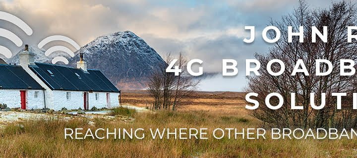 4G BROADBAND SOLUTIONS – HELPING YOU WORK FROM HOME